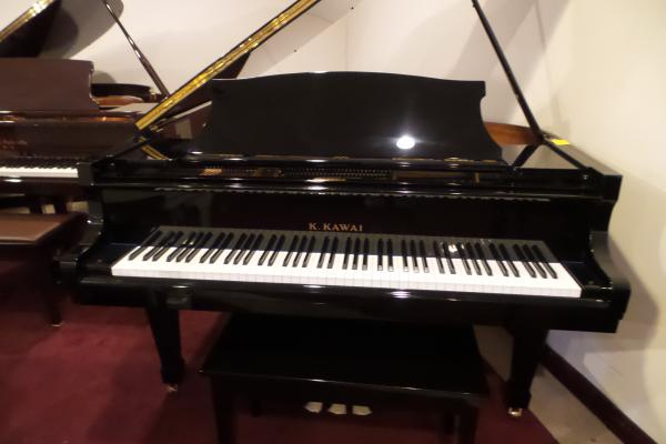 Kawai Polished Ebony Grand Piano - STK# D1698273