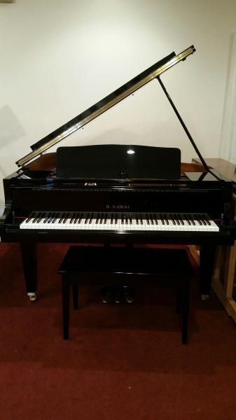 Kawai Polished Ebony Grand Piano - STK# N2559115