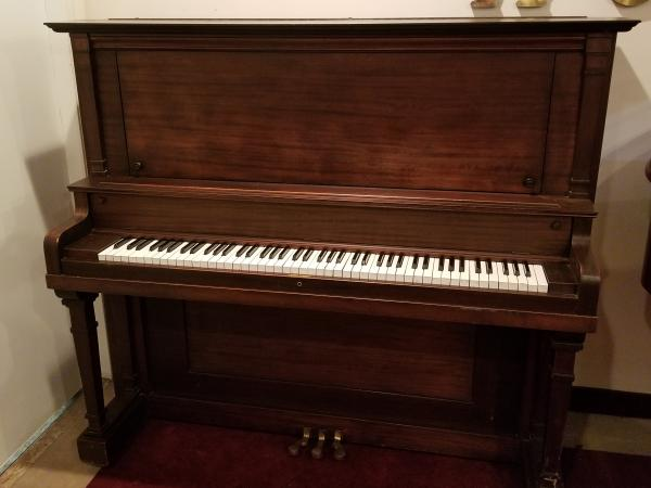 USED HALLET DAVIS & SON UPRIGHT