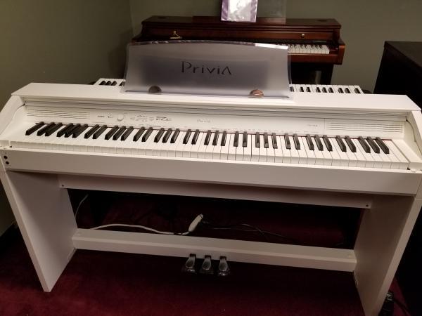NEW CASIO PRIVIA PX760 WHITE DIGITAL PIANO