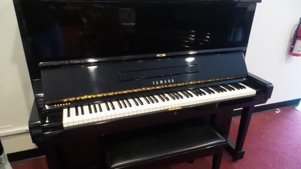 """Yamaha U3 52"""" Studio Upright Piano - STK# ZH2086688"""