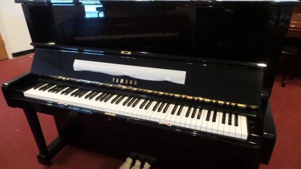 """Yamaha U1 48"""" Upright Piano - STK# GH2231234"""